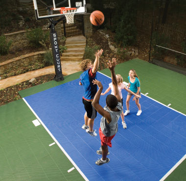 Our Uniquely Designed Game Court Allows A Multitude Of Games To Be Played,  All On One Surface, Rain Or Shine. You Can Play Tennis, Basketball,  Badminton, ...